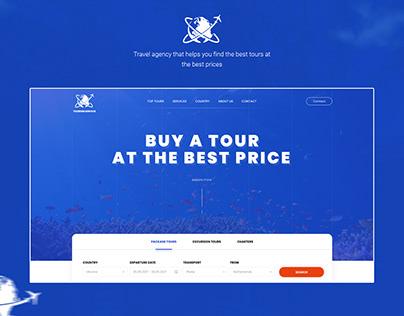 Landing Page - Tourism Service