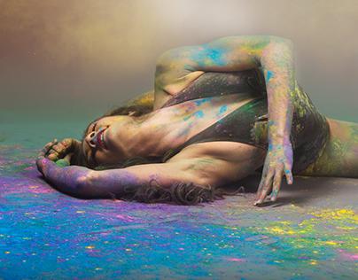 Contorsion in color !