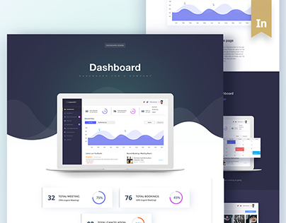 Complete Dashboard Design for a Company