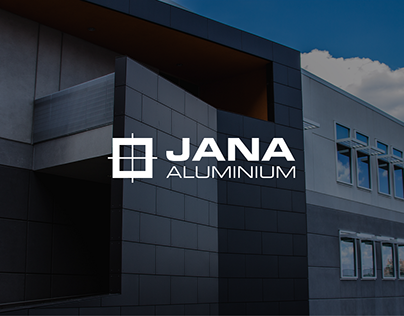 JANA Aluminium Brand Identity
