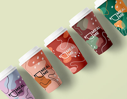 """Branding for Moscow Coffee Corners """"MEAL ME"""""""