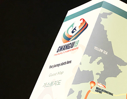 Fina World Championships Identity and Wayfinding System