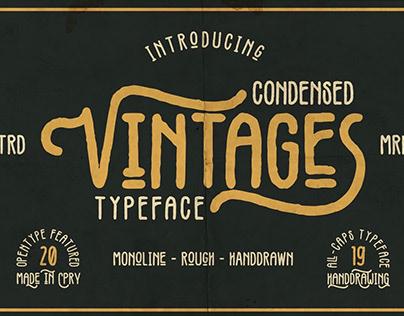 FREE Vintages Font