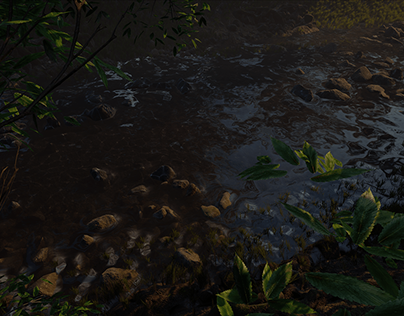 Real Time Forest Scene in Unreal Engine