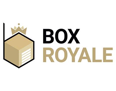 Box Royale logo design
