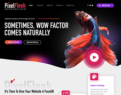 PixelFleek Website