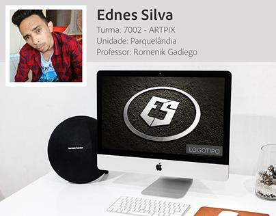 Logotipo criado pelo aluno Ednes Silva