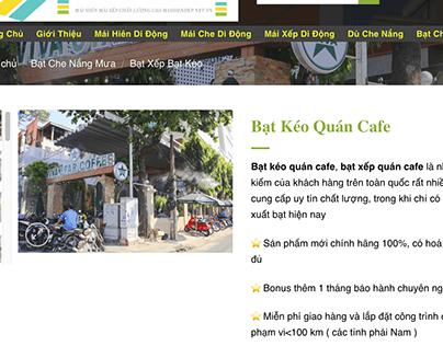 Giá Bạt Kéo Quán Cafe