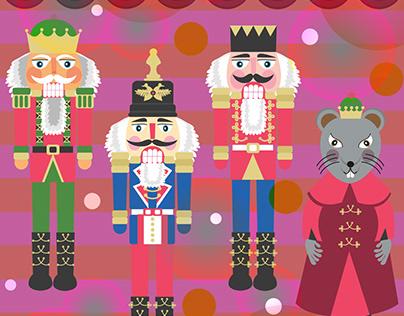 Nutcrackers Christmas Graphics
