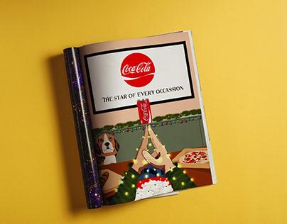 Coca Cola lateral Advertisement
