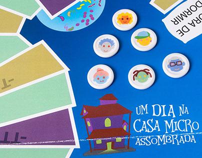 """Redesenho Jogo """"Um Dia na Casa Microassombrada"""""""