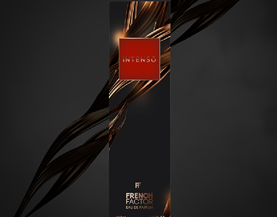 French factor perfume Packaging design