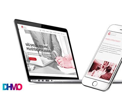 ARFIN Broker Web design