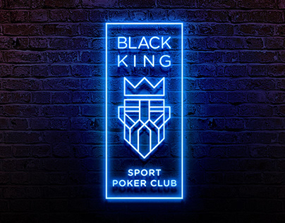 BLACK KING / SPORT POKER CLUB / BRANDING