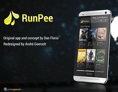 Run Pee Redesign