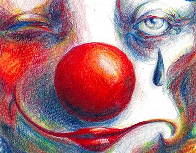 Clown / Bold pastel