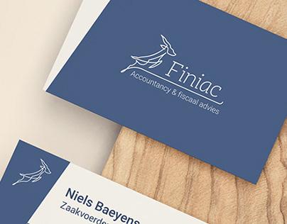 Logo design & Business card Finiac