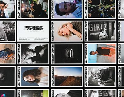 Business Card ◯ Valentin Gienger