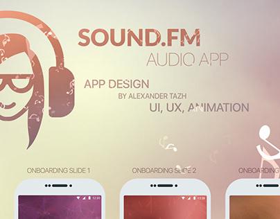 Sound.fm app