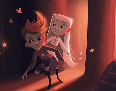 Luke and Flora