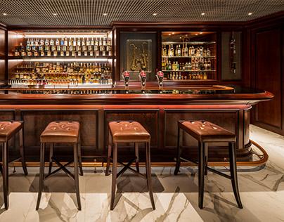 Hong Kong Parkview Whisky Bar Interior Photography