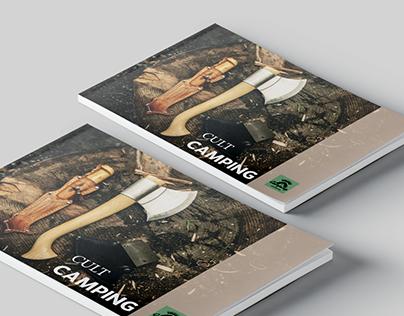 A4 landscape magazine