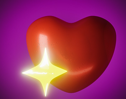 Sparkle Heart Emoji