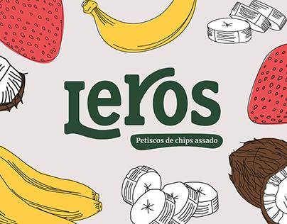 Snacks Leros - Design de Embalagem