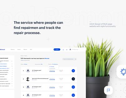 LookRemont — UI/UX Design