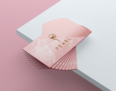 Business card -peral clinic - card id