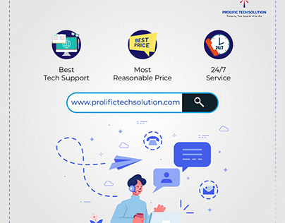 Flyers for Prolific tech solution