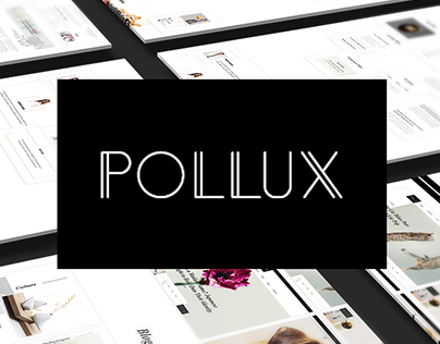 Pollux UI Kit - Elegant & Perfect for your next project
