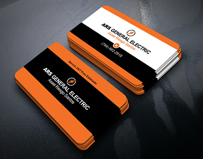 ARS General Electric Business Card