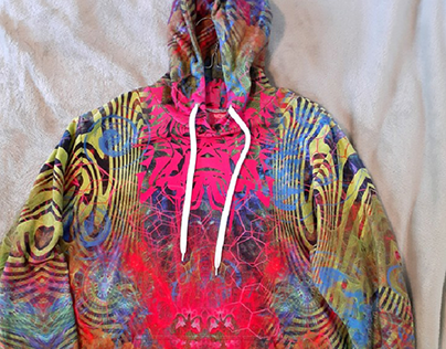 Allover Print Hoodies From Live Heroes