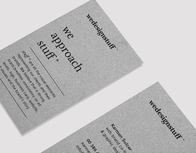 Wedesignstuff personal branding