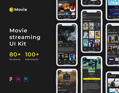 Movie - movie streaming UI Kit