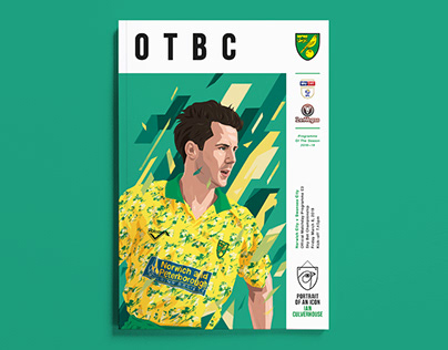 Norwich City F.C. Programme Cover