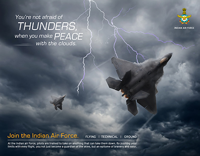 Indian Air Force Ad