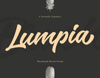 LUMPIA BRUSH FONTS