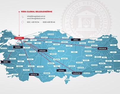 Company Map Turkey