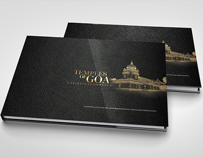 COFFEE TABLE BOOK- TEMPLES OF GOA