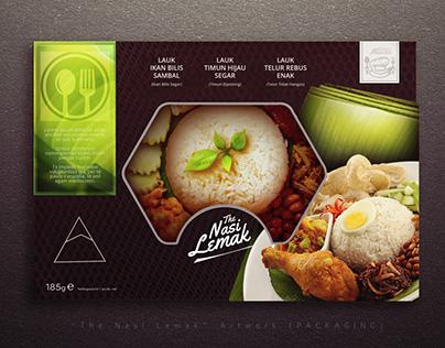 Packaging Design : Nasi Lemak