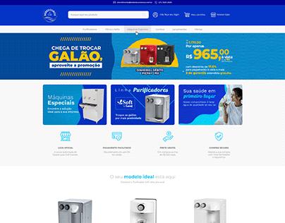 Bebedouros e Cia - Site E-commerce