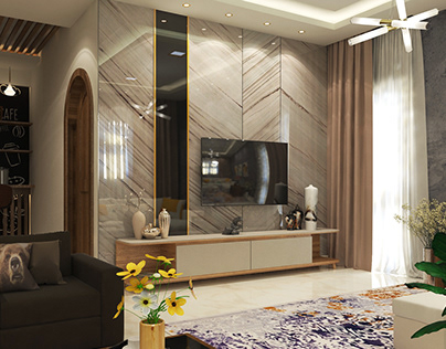 living room and coffee bar duplex villa in zagazig city