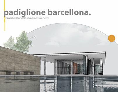  Barcelona Pavilion  caso studio