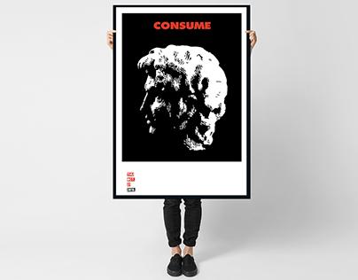 Poster-Folio CONSUME III