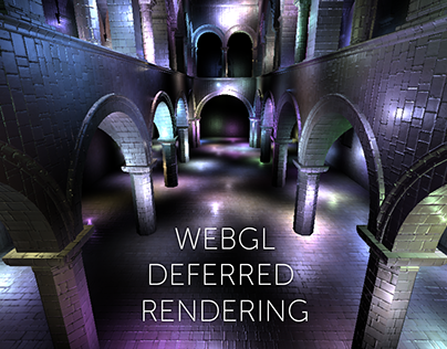 Clustered and Deferred Rendering in WebGL