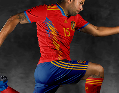 SPAIN FOOTBALL KIT Concept