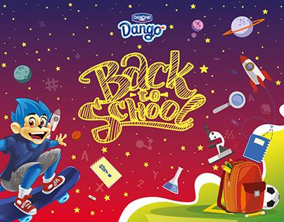 Danone (Dango) Back to school campaign