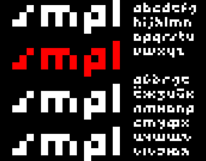 SMPL / free font / бесплатный шрифт